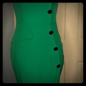 Dresses & Skirts - Retro pinup wiggle dress